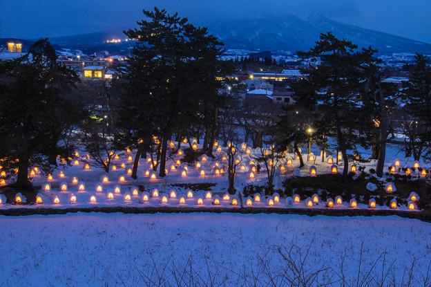 弘前城雪燈籠まつり