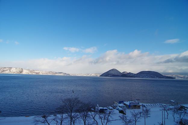 洞爺湖 中島
