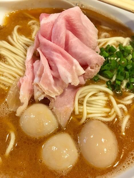 灰汁中華丿貫 福富町本店、薔薇肉とうずら味玉