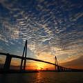 写真: 新湊大橋の空 2017・11・03 IMG_7749
