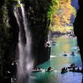 写真: ☆滝の秋を彩る