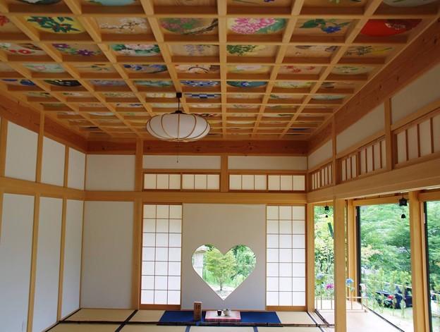 正寿院ハート窓