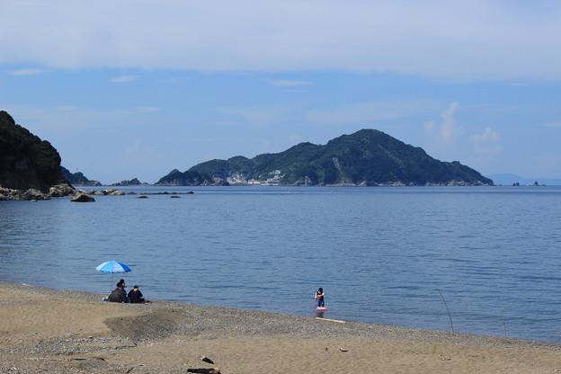 写真: 海水浴シーズン