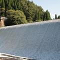 写真: 白水ダム近景