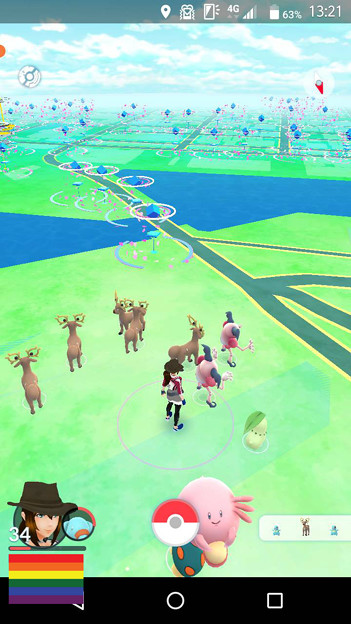 Pokemon Go Park