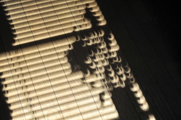 写真: annular solar eclipse
