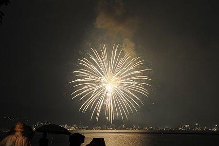 諏訪湖花火2009
