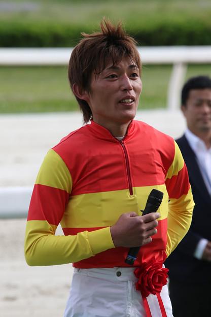 大畑 雅章 騎手(17/05/04・中日スポーツ杯 第56回 駿蹄賞)