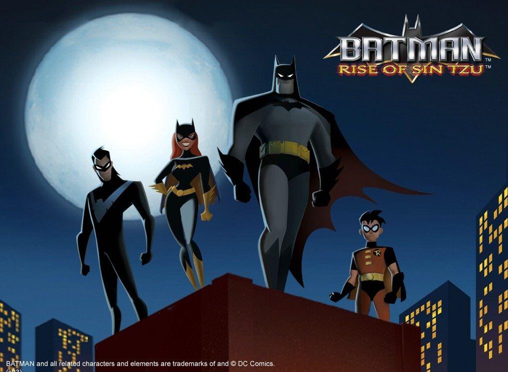 蝙蝠侠动画系列 Batman The Animated Series 1-4季 英语中字 全集