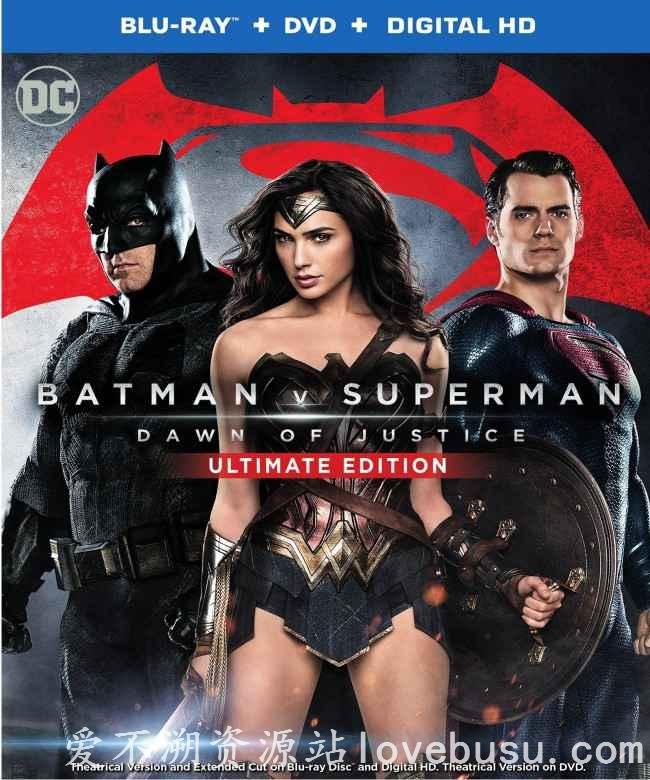 蝙蝠侠大战超人:正义黎明(Batman v Superman: Dawn of Justice)720P,1080P