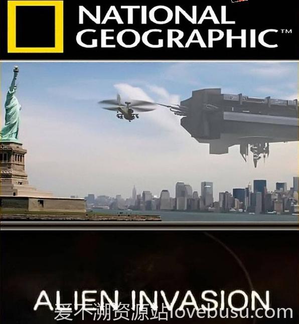 [国家地理] 不明飞行物入侵 8集 国语中字 1080P