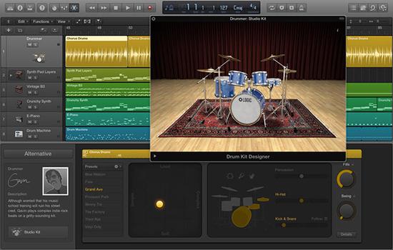 音乐制作软件Logic Pro X 从入门到深入剖析视频教程合集