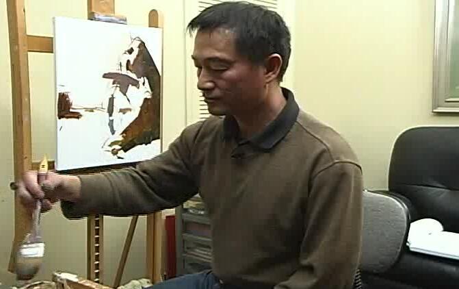 吴兆铭-油画人物技法