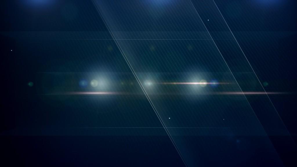 蓝色流动光效背景视频素材(Floating In Space)