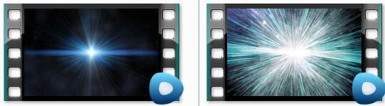 光影粒子碰撞爆炸视频素材