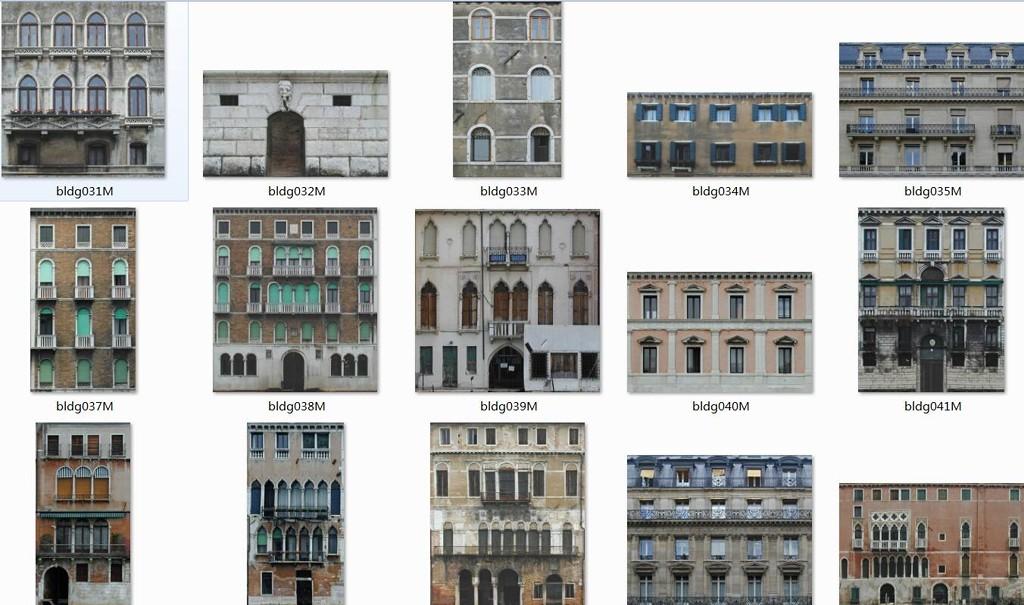 城市建筑贴图图片素材