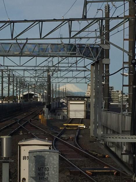 富士山 新鎌ヶ谷駅より