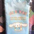 写真: 巾ちゃく袋 シナモロール スタンプラリー品川区限定ノベルティ