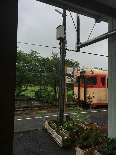 いすみ鉄道 キハ28 国吉駅