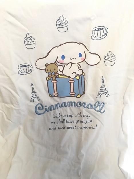 シナモロール 半袖Tシャツ トリップデザインシリーズ