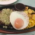 野菜ソースのハンバーグ(ディアボラ風)
