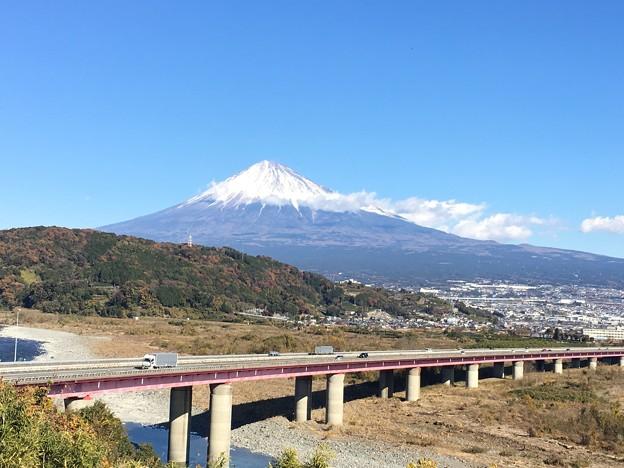 富士山 富士川SAより
