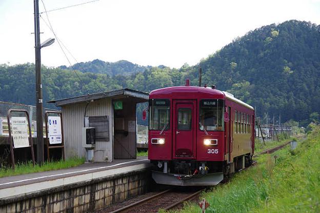 s0109_洲原駅とナガラ305