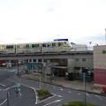 Photos: s8535_山万ユーカリが丘線ユーカリが丘駅を発車