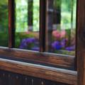 写真: 窓の彩り