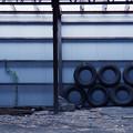 写真: ガレージ・アート