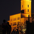 写真: 夜の塔
