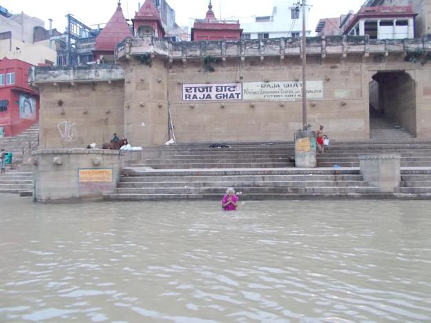 インド旅行 (17) ガンジス川