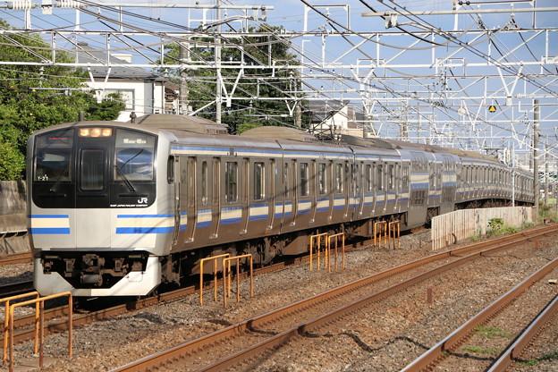 横須賀・総武快速線E217系 Y-21編成