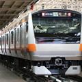 中央線E233系0番台 T21編成(特別快速 松本表示)