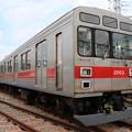 田園都市線2000系 2003F(改造中)