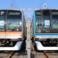 東葉高速鉄道2000系 2101F(臨時)・東西線15000系 15111F(快速 九段下)