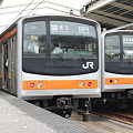 写真: 武蔵野線205系0番台 M65編成・5000番台 M35編成