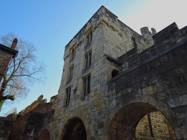 ヨーク・城門