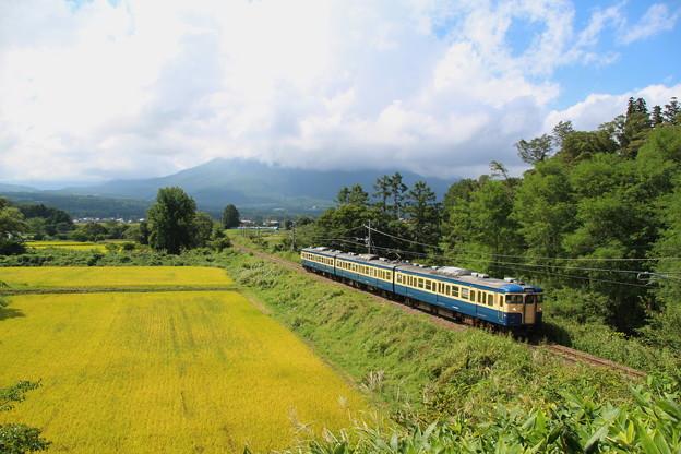 しなの鉄道115系(復刻版横須賀色)