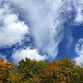 写真: 流れる雲