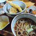 Photos: 天丼と戸隠そば