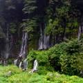写真: 白糸の滝パノラマ写真