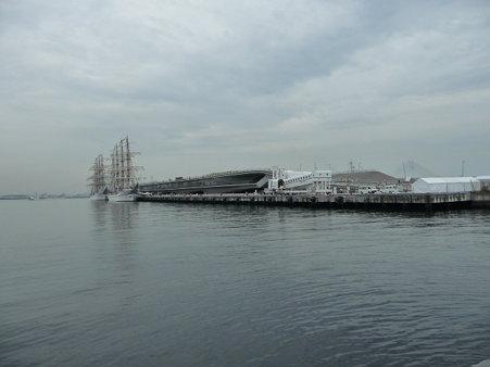 090718-大桟橋 帆船