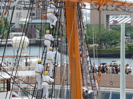 090720-日本丸 総帆展帆 (23)