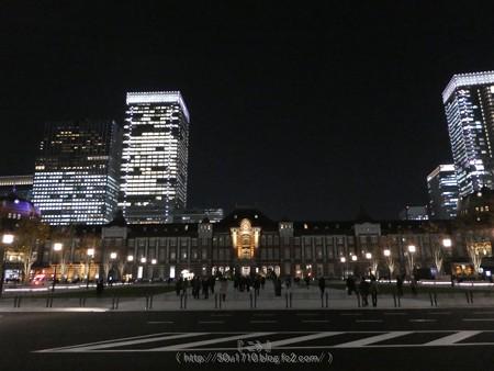 171207-東京駅 夜景 (1)
