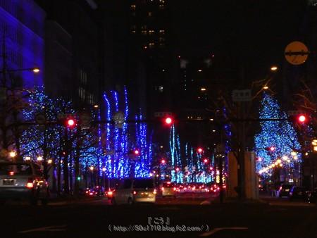 171229-御堂筋イルミネーション (11)