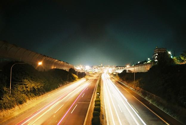 フィルムカメラで夜景02