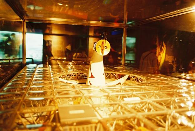 フィルムカメラで撮影 太陽の塔模型