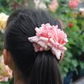 Photos: バラの髪飾り2017.5.14