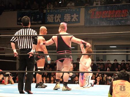 新日本プロレス CMLL 後楽園ホール 20110123 (17)